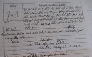 Độc giả đồng cảm với cậu học trò nghèo viết bài văn lạ