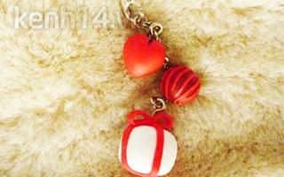 Móc khóa yêu mang dư âm ngọt ngào của Valentine