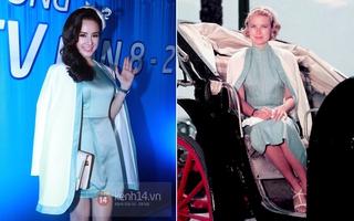 """""""Chán"""" Phạm Băng Băng, Angela Phương Trinh bắt chước Công nương hoàng gia"""