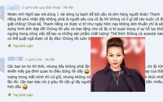 """Cư dân mạng lên tiếng về việc Thanh Hằng bị tố """"giật chồng"""""""
