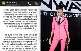 """Việt kiều Canada tiếp tục tung tin nhắn tố Thanh Hằng """"giật chồng"""""""