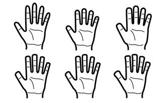 Chọn 1 trong 6 dáng bàn tay để bói đường công danh, sự nghiệp