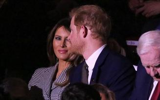 Bà Melania công du nước ngoài một mình, gặp Hoàng tử Anh và Thủ tướng Canada