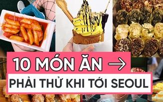Cẩm nang tất tật những món ăn vặt phải thử khi đến Hàn Quốc