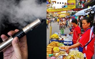 Du khách có thể bị phạt tù 10 năm nếu hút thuốc lá điện tử khi đến Thái Lan