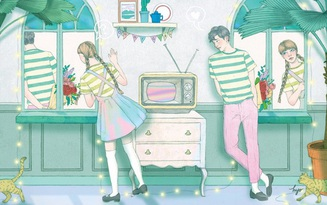 Bức tranh hai người cho biết bạn chủ động hay bị động trong tình yêu