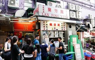 Hàng trà sữa nhà làm ở Hong Kong ra đời hơn 60 năm lúc nào cũng nườm nượp khách