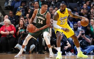 NBA 2019-2020 ngày 14-12: Milwaukee Bucks và Los Angeles Lakers tiếp tục củng cố vững chắc vị trí dẫn đầu