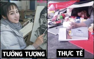 Sinh viên mỹ thuật: Tưởng toàn soái ca mỹ nữ như nghệ sĩ, thực chất là ngày đêm đầu bù tóc rối bên bảng vẽ