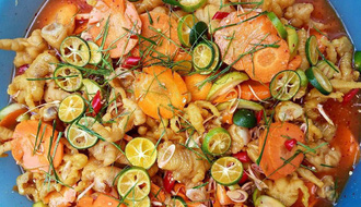 Trời Hà Nội đang đẹp quá, nhâm nhi loạt món sốt Thái chua cay này thì quá chuẩn