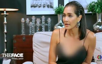 """Sợ """"lộ hàng"""", nhà đài làm mờ vòng 1 của HLV The Face Thái?"""