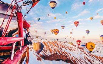 Chỉ ước một lần được ghé thăm xứ sở khinh khí cầu đẹp như cổ tích