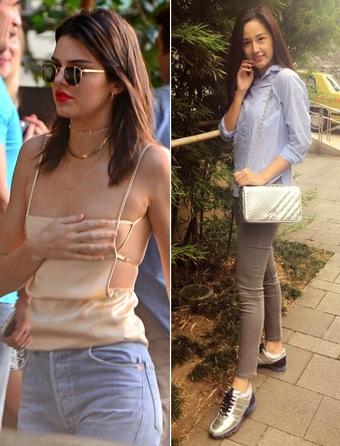 """Kendall Jenner chỉ lo lộ vòng 1, Mai Phương Thúy """"dát"""" hàng hiệu vẫn khó đẹp"""