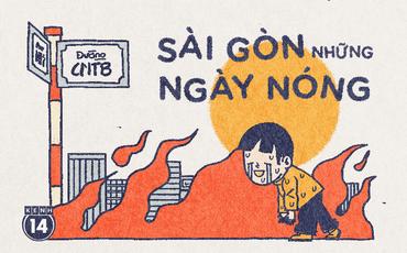Sài Gòn những ngày này: Thần thái không quan trọng, quan trọng là có tìm được chỗ tránh nắng nóng hay không?