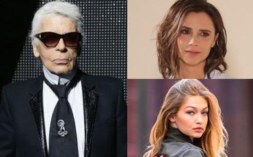 Victoria Beckham, Gigi Hadid bàng hoàng, bày tỏ tiếc thương vô hạn trước sự ra đi của
