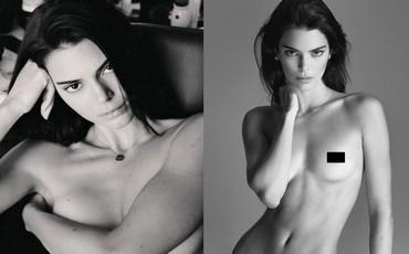 Ảnh nude toàn tập nhận 2,9 triệu like sau 2 tiếng của nàng mẫu 9x Kendall Jenner: Đẹp ná thở, body 0% mỡ thừa