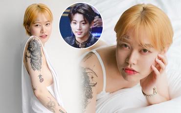 Nữ nghệ sĩ xăm dính tin hẹn hò Jungkook (BTS): Để tóc dài xinh và sexy bất ngờ, chính thức lên tiếng sau khi bị