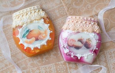 Bộ sưu tập bánh xà phòng nhỏ xíu đẹp chẳng kém gì tranh màu nước thực thụ