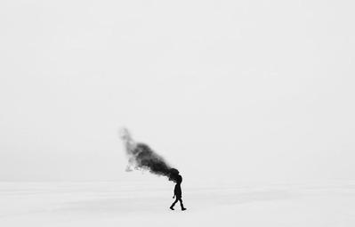 Những hình ảnh siêu thực trong thế giới của chàng trai mắc bệnh trầm cảm