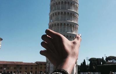 16 kiểu chụp ảnh sống ảo sáng tạo với tháp nghiêng Pisa