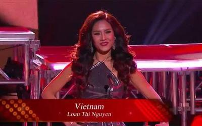 Nguyễn Thị Loan dừng lại ở top 20 tại Miss Grand International