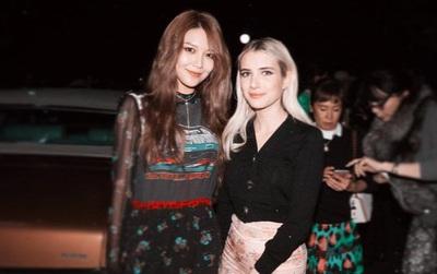 Xúng xính cùng sao Hollywood, Sooyoung được báo Vogue khen hết lời vì mặc đẹp