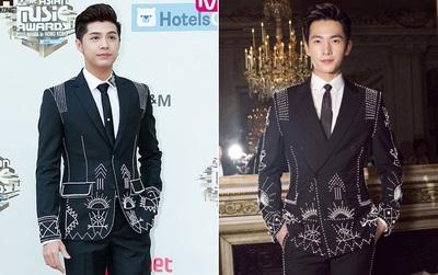 """Diện áo vest na ná, liệu Noo Phước Thịnh có """"đánh bật"""" được vẻ đẹp của Dương Dương?"""