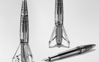 Có gì sang chảnh ở cây bút máy hình tên lửa giá xấp xỉ nửa tỷ đồng?