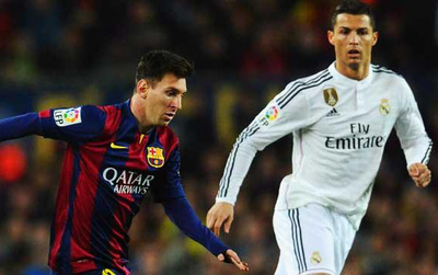 """Messi """"đuối"""" hơn Ronaldo trong 4 mùa giải gần đây"""