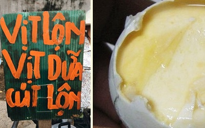 Món ăn hot nhất mạng xã hội ngày hôm nay: Trứng vịt dữa là cái gì?