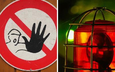 Tại sao màu đỏ lại liên quan đến nguy hiểm? Lý giải bạn chưa từng nghe thấy bao giờ