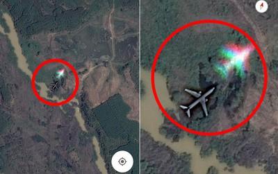 Bóng máy bay bí ẩn giữa rừng thủy điện Trị An được Google chụp lại: Đã có lời giải thích xác đáng!