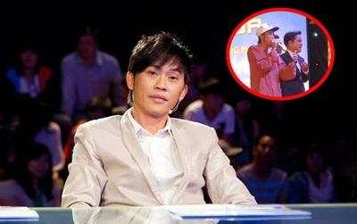 Đây là cách Hoài Linh xử lí khéo léo khi bị khán giả Quảng Ngãi chọi đá lên sân khấu!