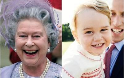 10 khoảnh khắc cho thấy Hoàng tử bé giống hệt các thành viên Hoàng gia Anh
