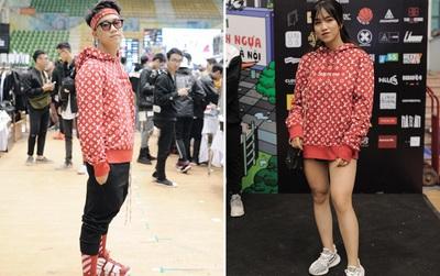 Giới trẻ Việt thi nhau mặc hoodie trăm triệu của Louis Vuitton x Supreme và đồ streetwear đắt đỏ tới Sole Ex 2017