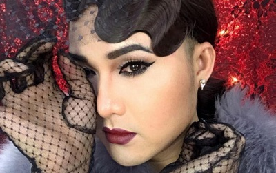 """Make up """"thần thánh"""", chàng trai """"biến hình"""" thành mỹ nữ"""
