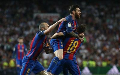 TRỰC TIẾP (HT) Real Madrid 1-1 Barca: Messi san bằng cách biệt