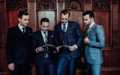 Chương Tailor mang suit Việt đến với kinh đô thời trang London