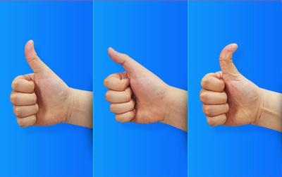 Xem hình dáng ngón tay cái để khám phá ưu điểm nổi trội của mỗi người