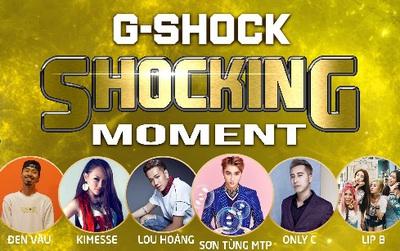 Bùng nổ cảm xúc cùng Sơn Tùng M-TP tại Đại nhạc hội CASIO G-SHOCK