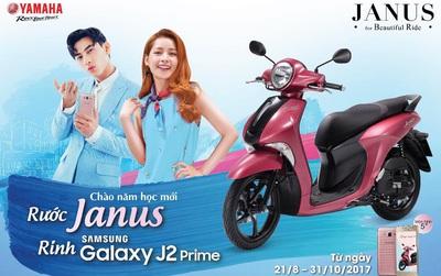 Rước Janus, rinh Samsung Galaxy J2 Prime mừng năm học mới