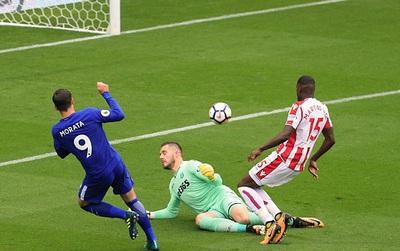 TRỰC TIẾP Stoke 0-2 Chelsea (hiệp 1): Morata lập công