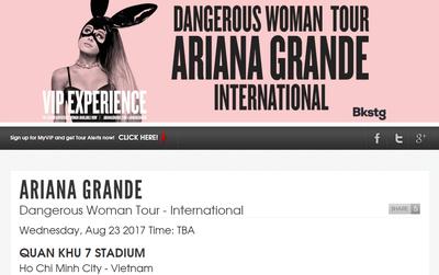 Ariana Grande bất ngờ hủy show trước giờ G, những tấm vé fan đã mua sẽ được hoàn tiền hay BTC xử lý thế nào?