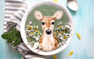 Chiêm ngưỡng những cốc sinh tố ngon lành được trang trí đẹp như tranh vẽ