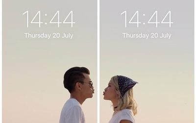"""Màn hình điện thoại đôi là cách dễ thương nhất để """"khẳng định chủ quyền"""" với người yêu"""
