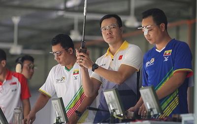Hoàng Xuân Vinh bị loại ở nội dung từng giành HC bạc Olympic 2016
