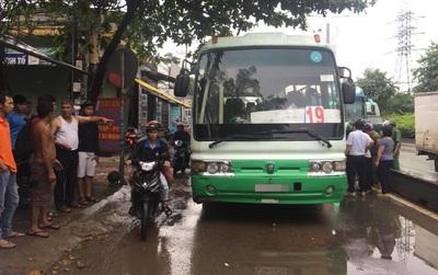 Bình Dương: Hung thần xe buýt tông 2 nữ sinh thương vong trên đường phố