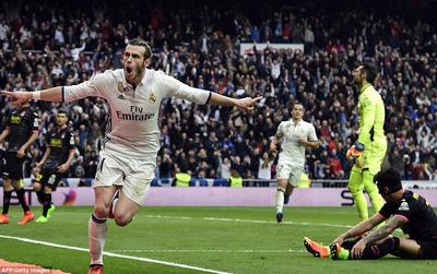Gareth Bale nổ súng sau gần 3 tháng dưỡng thương, Real tiến sát tới ngôi vương