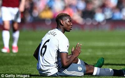 Nóng: Man Utd mất Paul Pogba ở derby Manchester