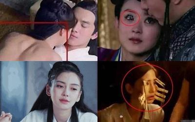10 cảnh quay mà các sao Trung sẽ phải ngượng chín mặt khi nhìn lại